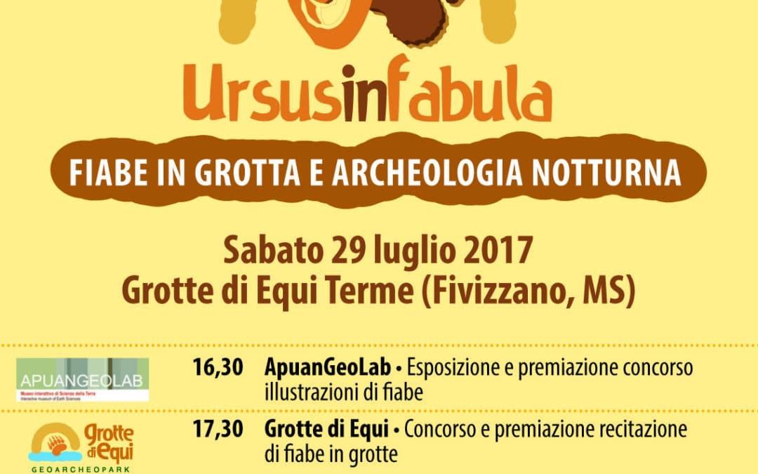 'Ursus in Fabula' – 29 luglio – Fiabe in grotta e archeologia notturna