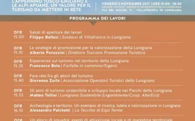 Lunigiana Sostenibile al Seminario 'Cultura Natura Turismo, fare tesoro della Lunigiana'