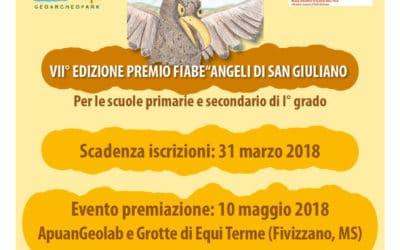 Il Premio Fiabe Angeli di S. Giuliano approda a Equi Terme – Iscrizioni scuole fino al 31 marzo