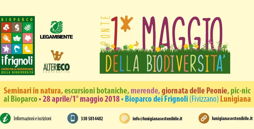 Ponte del 1° Maggio della Biodiversità – Al Bioparco dei Frignoli 28 aprile/1° maggio 2018