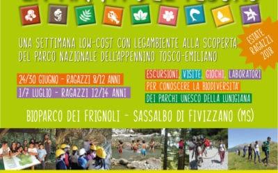 La Mappa del Tesoro: soggiorni estivi per ragazzi low-cost nei Parchi della Lunigiana