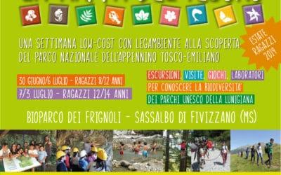 Ancora pochi posti per i soggiorni estivi low-cost per ragazzi nei Parchi della Lunigiana