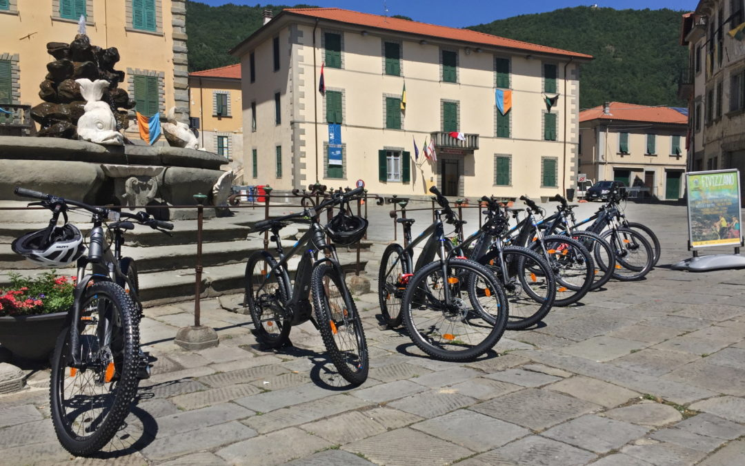 Attivi i tre e-bike center in Comune di Fivizzano