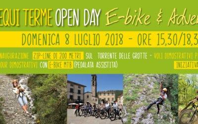 Open day e-bike & adventure al Geo-Archeo Park delle Grotte Equi Terme!