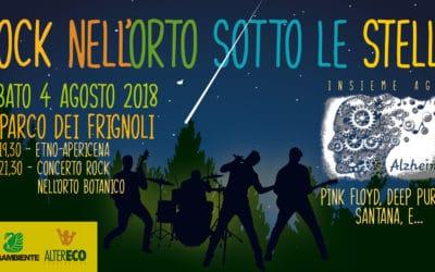 'Rock nell'Orto', sotto le stelle!