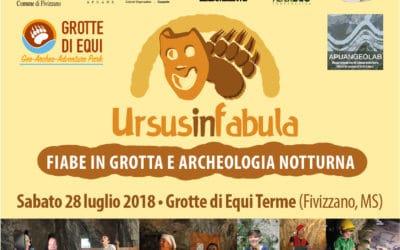 URSUS IN FABULA – FIABE IN GROTTA E ARCHEOLOGIA NOTTURNA