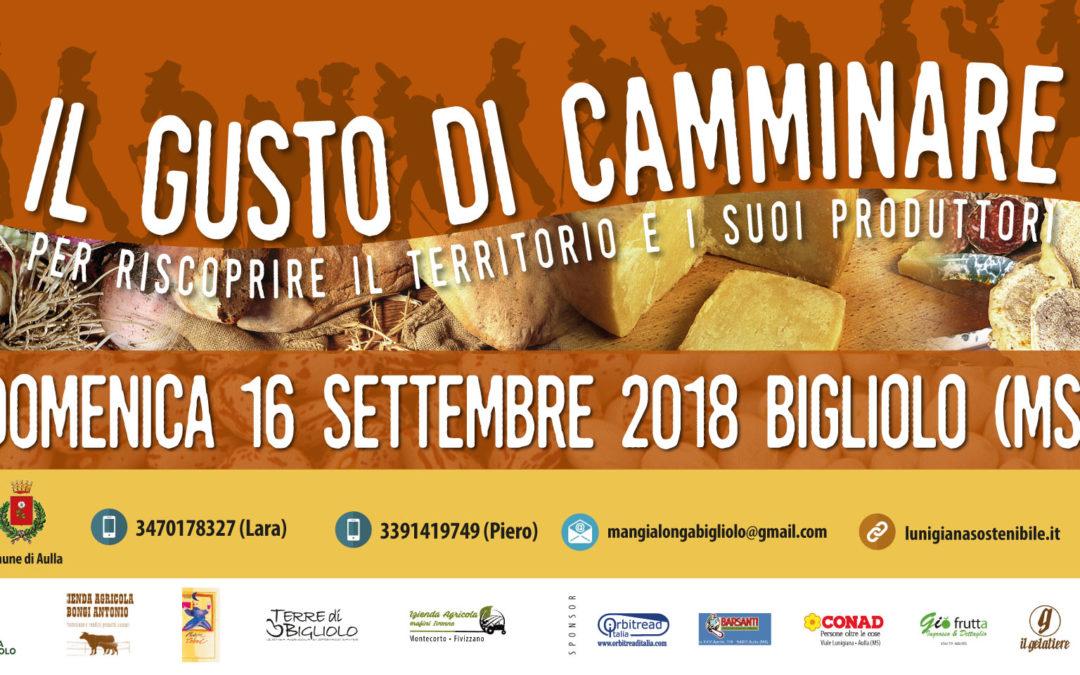 Il gusto di camminare – domenica 16 settembre 2018 – Bigliolo (Aulla, MS)