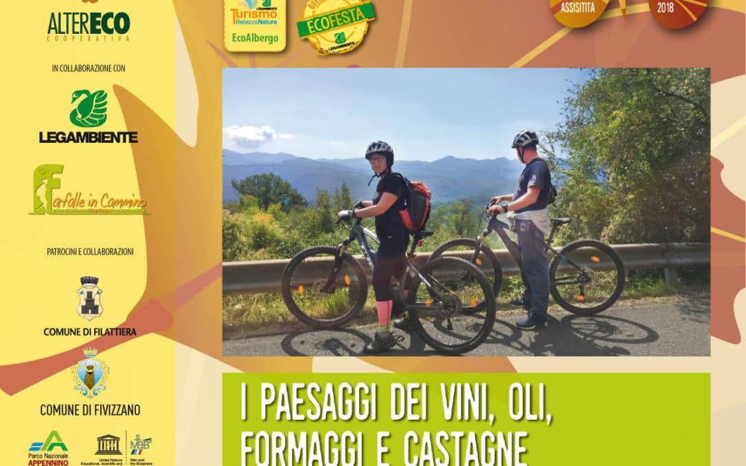 In ebike tra paesaggi e produttori di Fivizzano