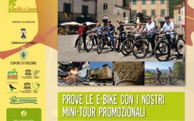 Prova le e-bike con i nostri mini-tour promozionali