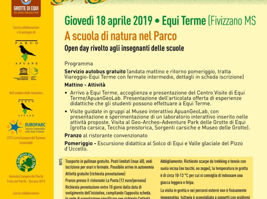 A scuola di natura nel Parco: Open day per gli insegnanti