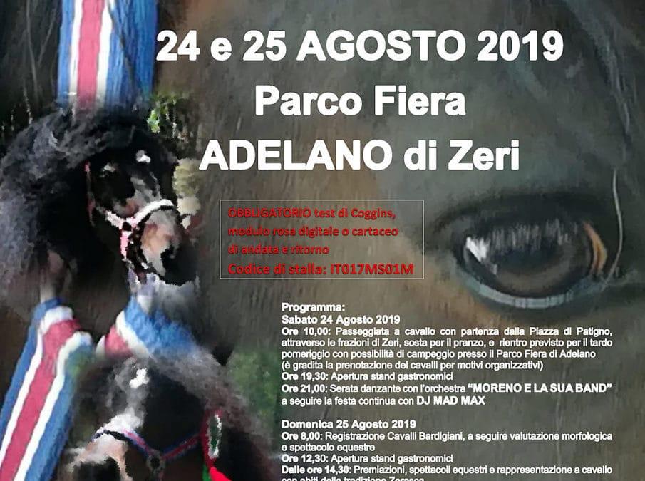 Mostra del Cavallo Bardigiano, Zeri, è Eco-Festa