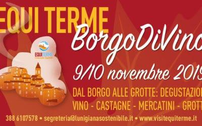 Equi Terme Borgo DiVino, Castagne e…