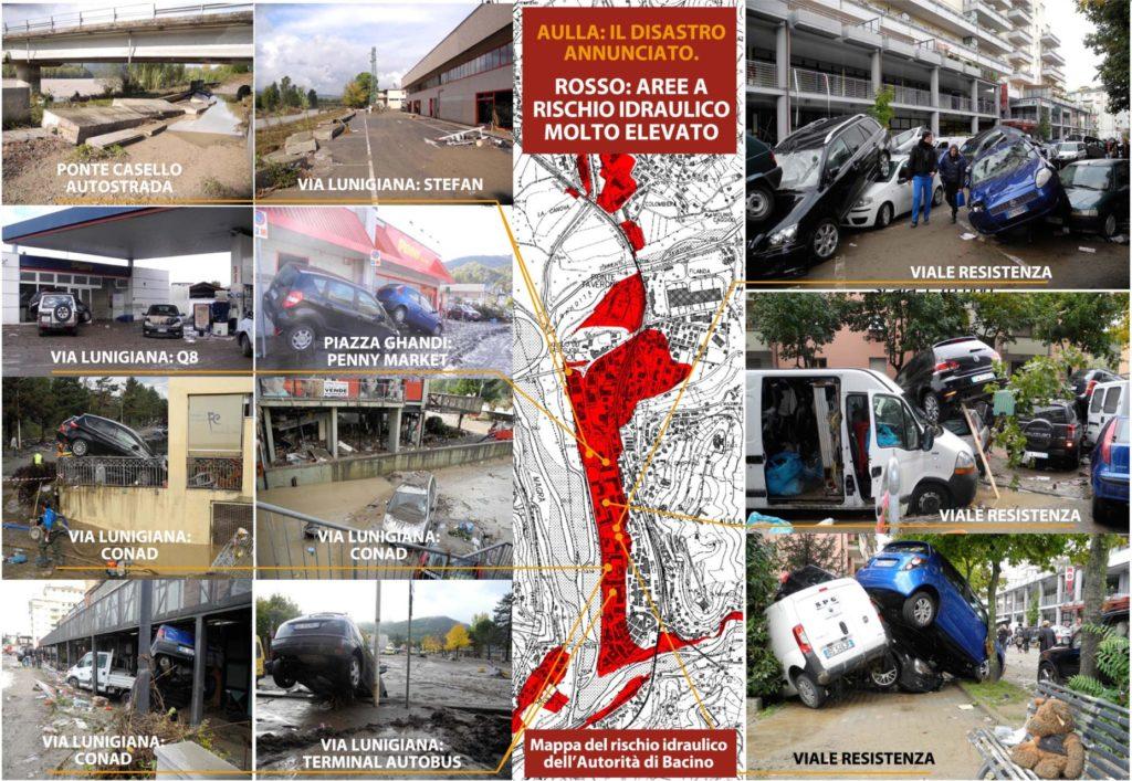 poster alluvione aulla