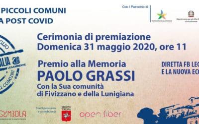 Voler Bene all'Italia, Legambiente: Premio alla memoria di Paolo Grassi