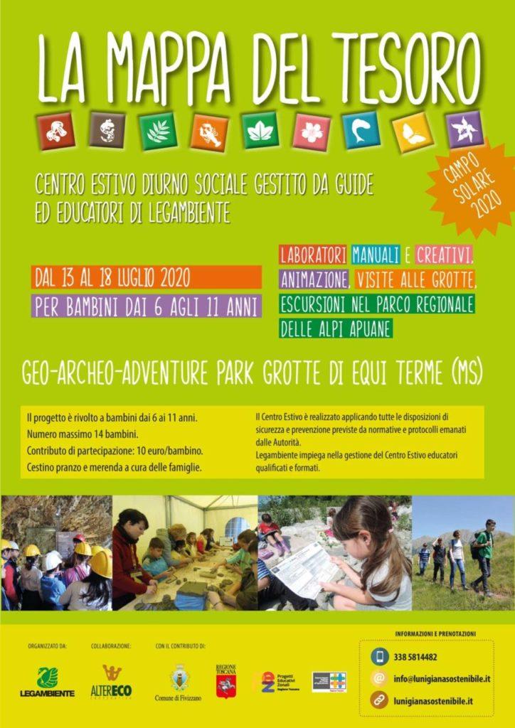 programma centro estivo 2020 Legambiente