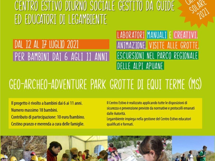 La Mappa del Tesoro! Centro estivo per bambini a Equi Terme.